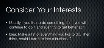 Owning Your Own Business - Teaching Students That They Can Do This