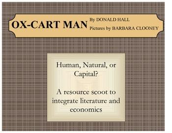Ox-Cart Man Resources Scoot Human, Natural, or Capital