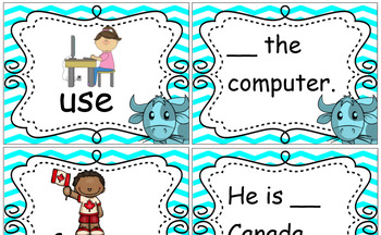 Ox Helps - High Frequency Words