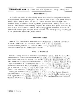 Oxcart Man Literature Guide
