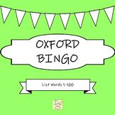Oxford 100 Words Bingo Game
