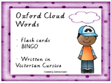 Oxford Cloud Sight Words Flashcards and BINGO