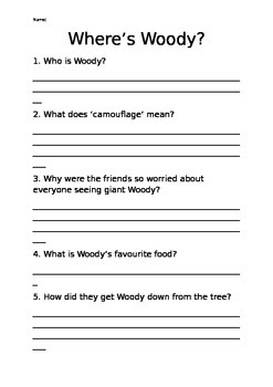 Oxford Literacy Team X L12-17 Where's Woody
