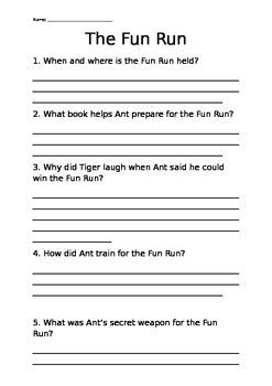 Oxford Literacy Team X L24-26 the Fun Run
