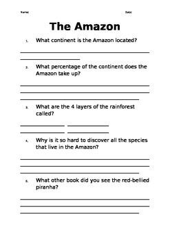 Oxford Literacy Team X L30+(5) The Amazon