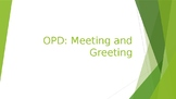 Oxford Picture Dictionary Lesson 1 PowerPoint: Meeting and