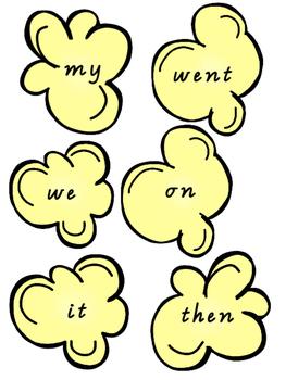 Oxford Popcorn Words! Vic Modern Cursive 1-50