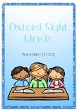 Oxford Sight Word Hunt 21-30