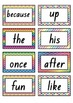 Oxford Sight Words 0-200 Word Wall Resouces NSW Foundation Font