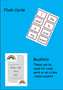 Oxford Sight Words - Complete Program Rainbow Words 1-100