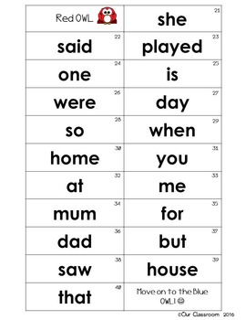 Oxford Sight Words 0-100 KEY RING