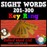 Oxford Sight Words 201-300 KEY RING