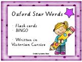 Oxford Star Sight Words - Flashcards & BINGO