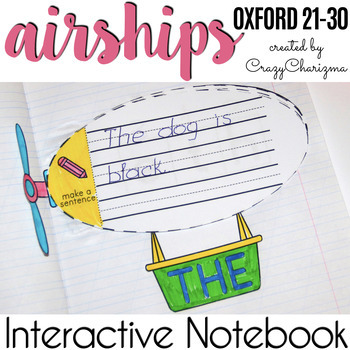 Oxford Word Activities - Airships {21-30}