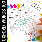 Sight Word Activities Oxford Words 100 Australian Curriculum