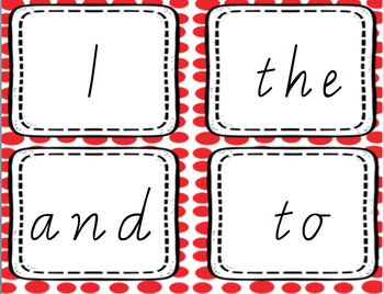 Oxford Word Flash Cards - Victorian Cursive