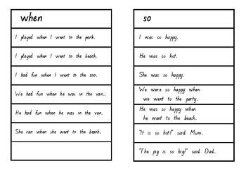 Oxford Word Fluency Sentences Green Level