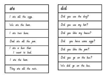 Oxford Word Fluency Sentences Pink Level