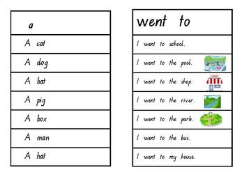 Oxford Word Fluency Sentences Red Level