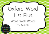 Oxford Word List Plus - Word Wall Words