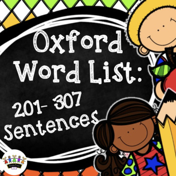 Oxford Word Sentences - Set 3