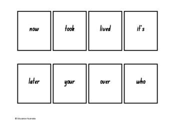 Oxford Wordlist Plus Flash Cards Set - Words 101 - 150 - Memory / Sight Words