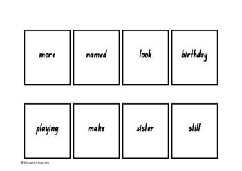 Oxford Wordlist Plus Flash Cards Set - Words 151 - 200 - Memory / Sight Words