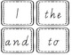Oxford Words Black & White - Vic Cursive