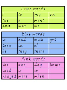 Oxford Words Booklet