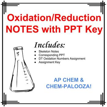 Oxidation/Reduction Skeleton Notes and Assignment with Key