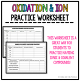 Oxidation and Ion Practice