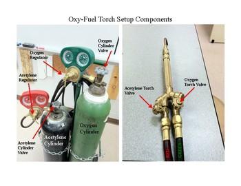 Oxy-Fuel Setup Components