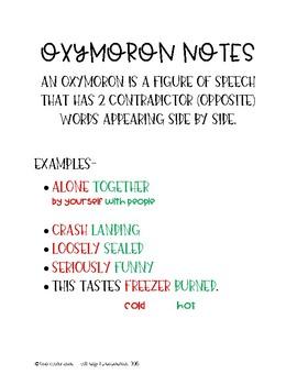 Oxymoron Notes