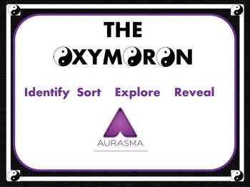 Oxymoron Sort with Aurasma