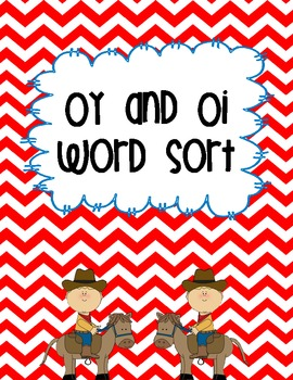 Oy and Oi Word Sort