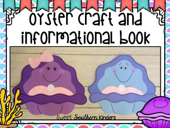 Oyster Craft and Informational Book: Ocean Craft