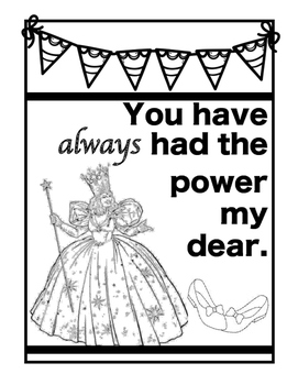 Oz Quotes Coloring Pages