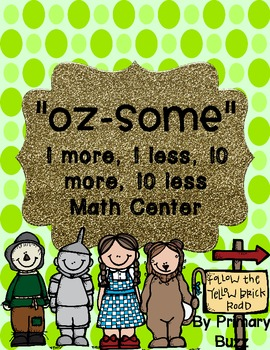 """""""Oz-Some!"""" 10 More, 10 Less 1-120 Chart Center"""