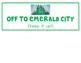 Oz Themed Clip Chart