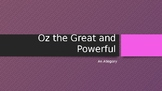 Oz the Great and Powerful Movie Assignment