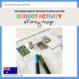 Ozobot Activity: Story Map - The Curious Case of the Overly Playful Platypus