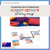 Ozobot Activity: Story Map - The Sensational Saga of the Bumbling Bilby