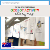 Ozobot Activity: Story Map - The Tale of the Tweeting Galah