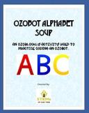 Ozobot Alphabet Soup