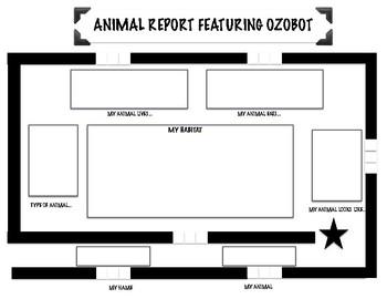 Ozobot Animal Report