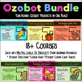 Ozobot Activities, Mazes, and Challenges Bundle Pack