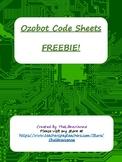 Ozobot Code Sheets