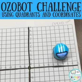Ozobot STEM Challenge: Quadrants and Coordinates
