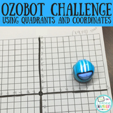 Ozobot STEM Challenge: Quadrants and Coordinates