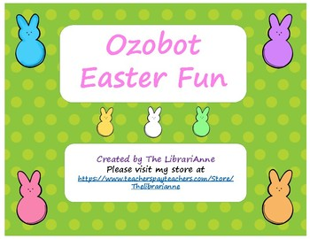 Ozobot Easter Fun